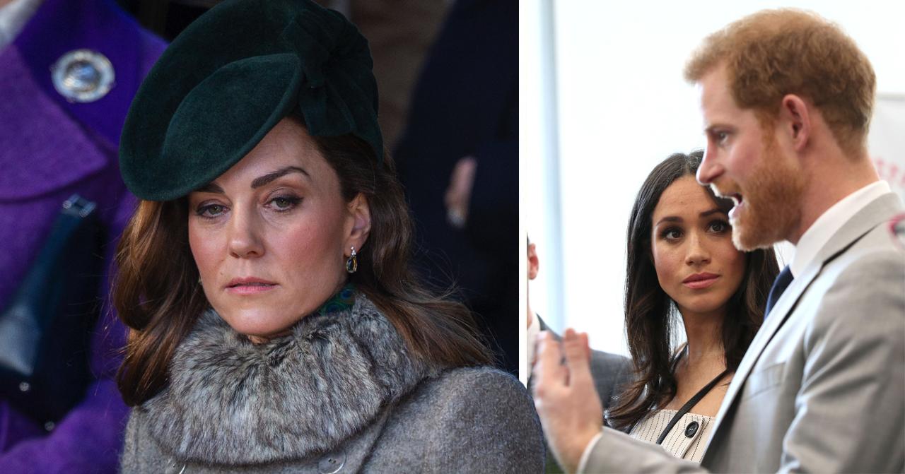Kate Middleton, Meghan och prins Harry
