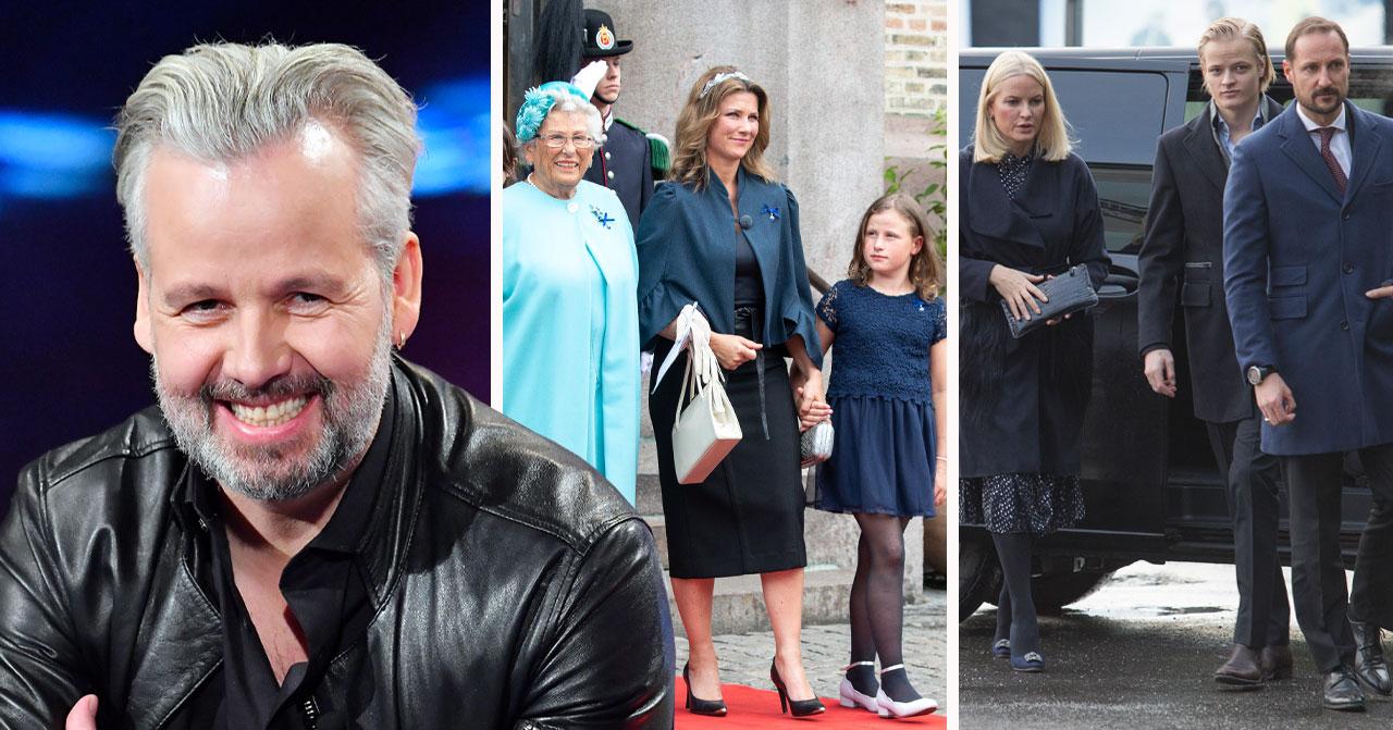 Norska kungafamiljen och Ari Behn