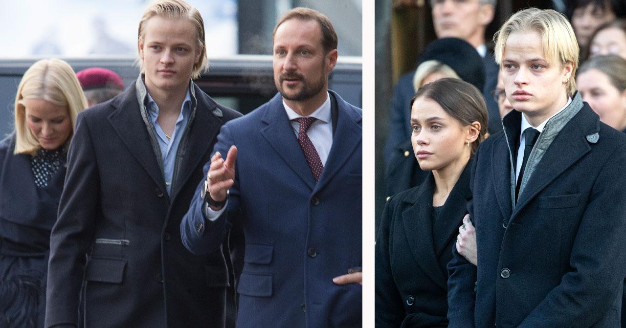 Kungafamiljens beslut för Marius Borgs flickvän Julia