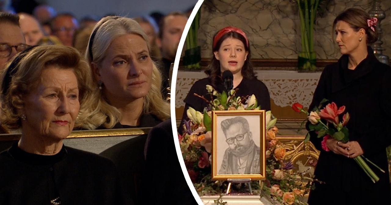 Dottern Maud om sista orden till Ari Behn – hjärtskärande talet i kyrkan
