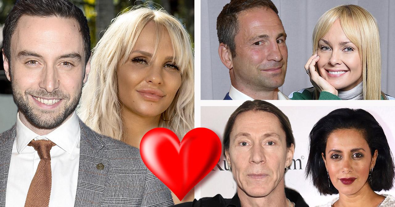 "Måns Zelmerlöx har haft en romans med Paulina ""Paow"" Danielsson, Paolo Roberto med Izabella Scorupco och Martin ""E-Type"" Ericsson med Anitha Clemence."