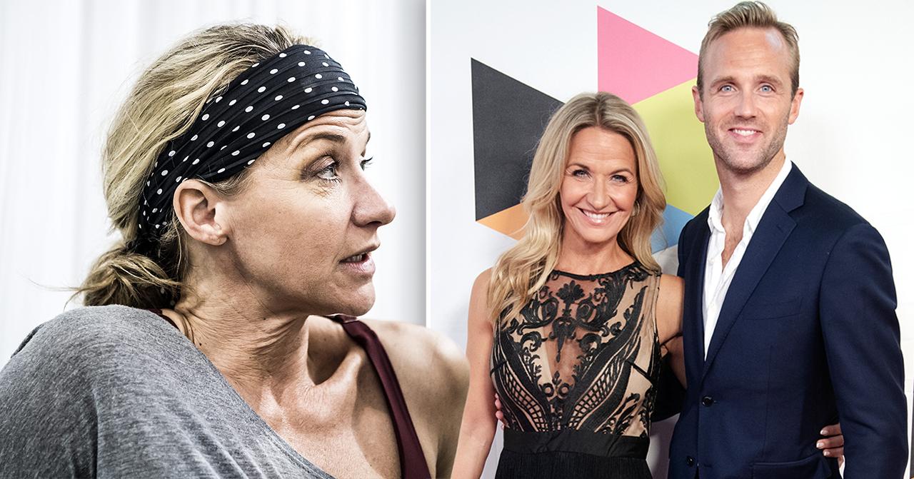 Calle Sterner och Kristin Kapersen