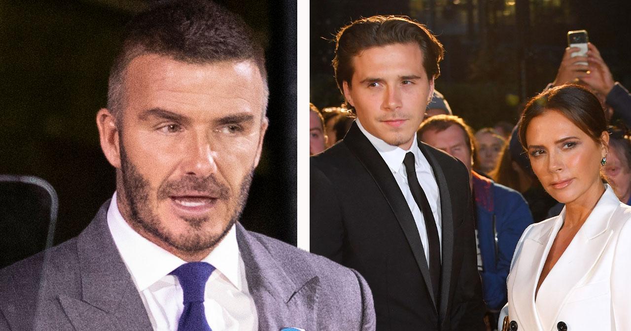 Brooklyn Beckham splittrar David och Victoria