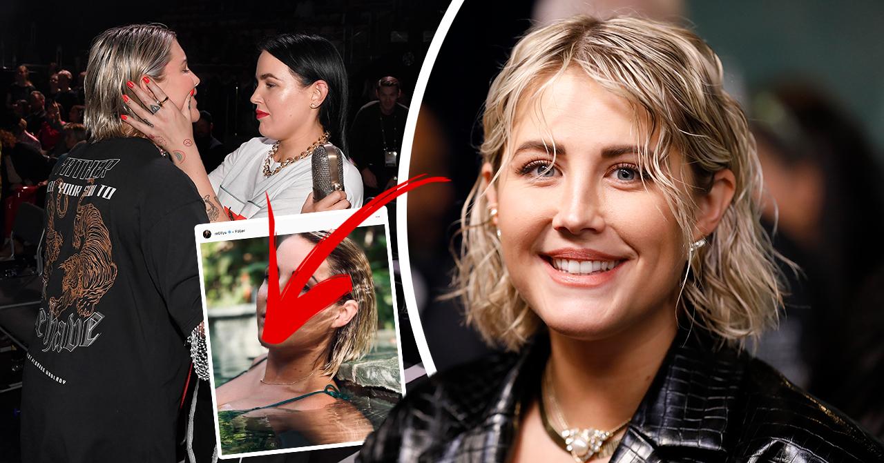 Kändisarna jublar över Molly Sandéns bild – efter kärleksbeskedet
