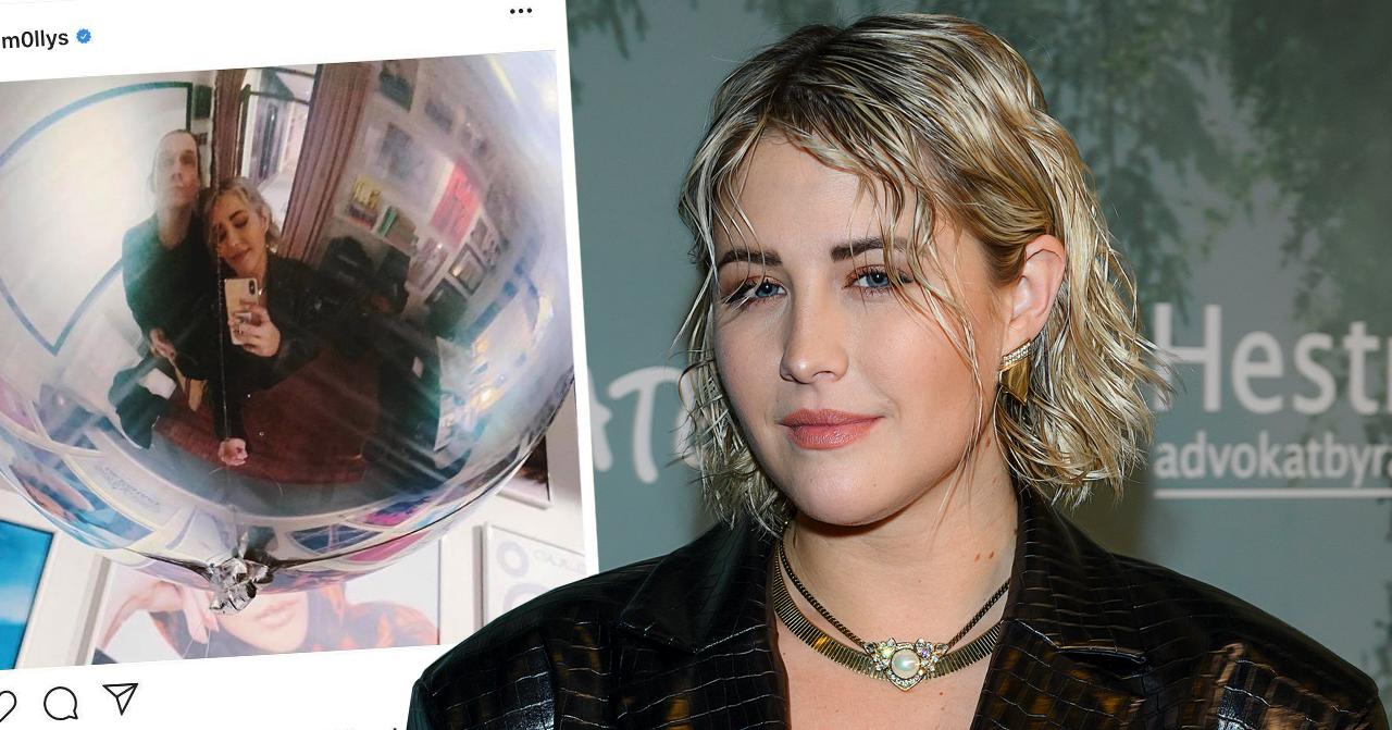 Molly Sandéns kryptiska bild med artisten förvirrar följarna