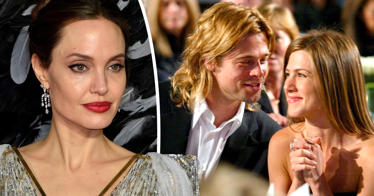 Angelina Jolie, Brad Pitt och Jennifer Aniston
