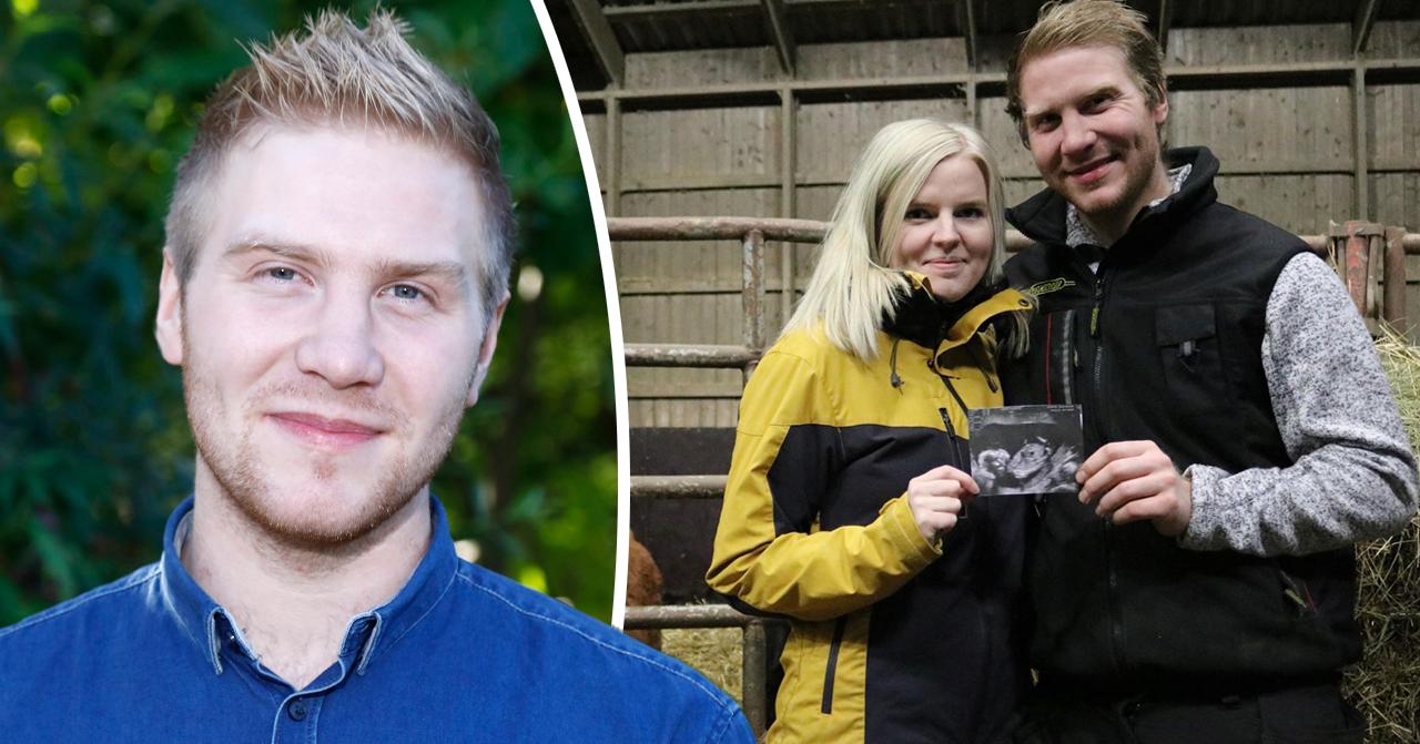 Bonde söker fru: Dennis Andersson och flickvännen Amelia Blomvall