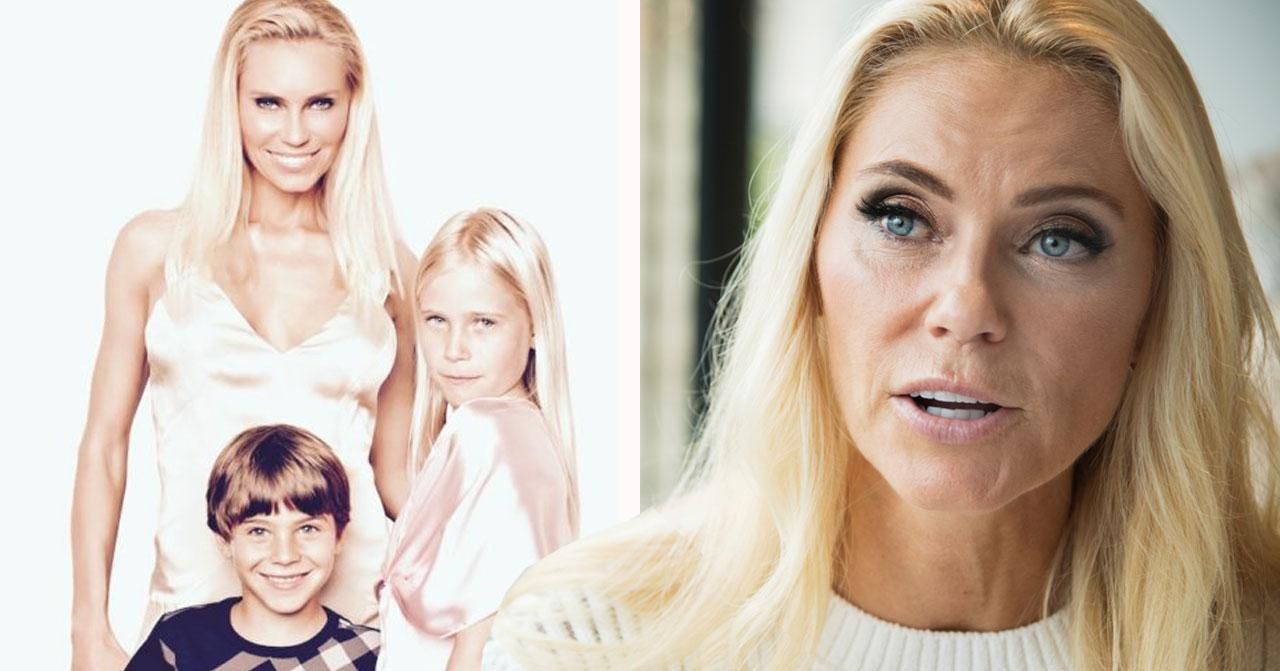 Anna Anka och barnen Elli och Ethan