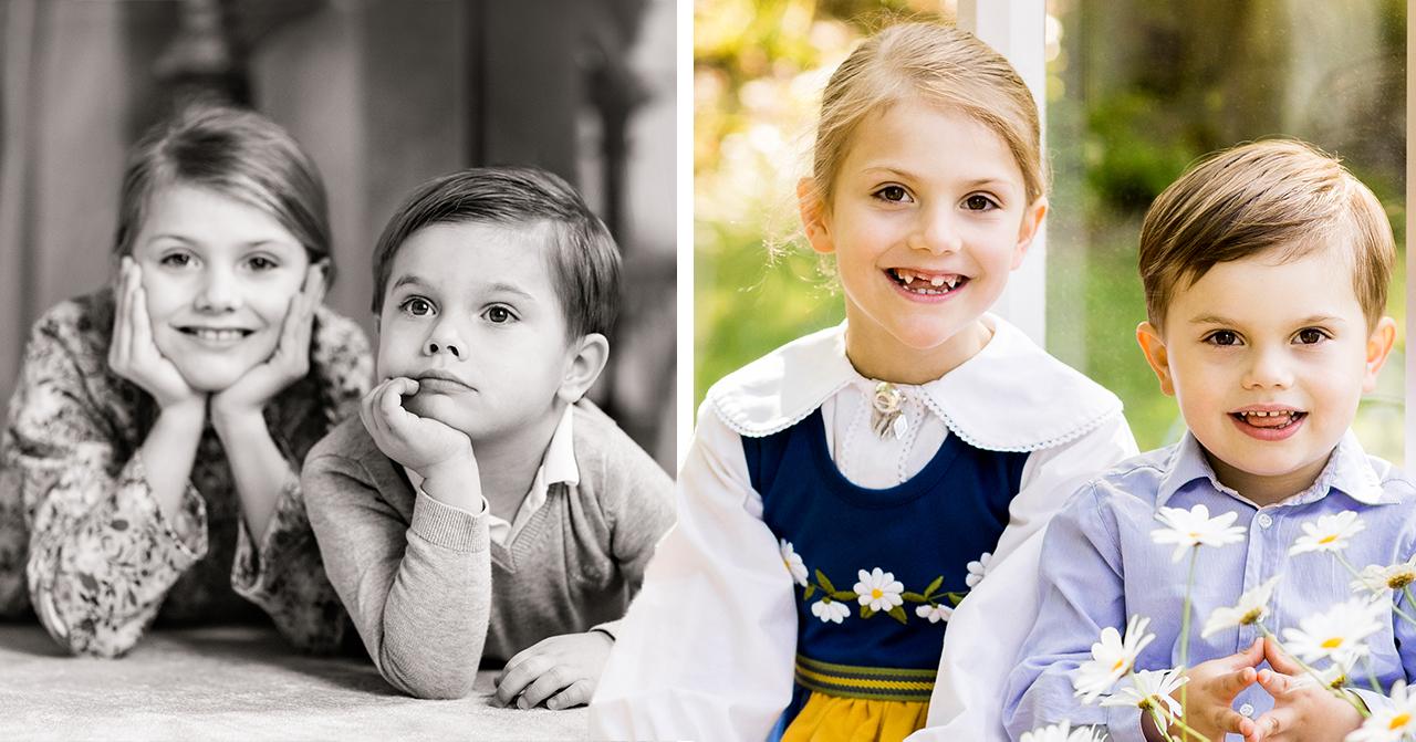 Hovets beslut om Estelle och Oscar – nya bilderna på barnen visar sanningen