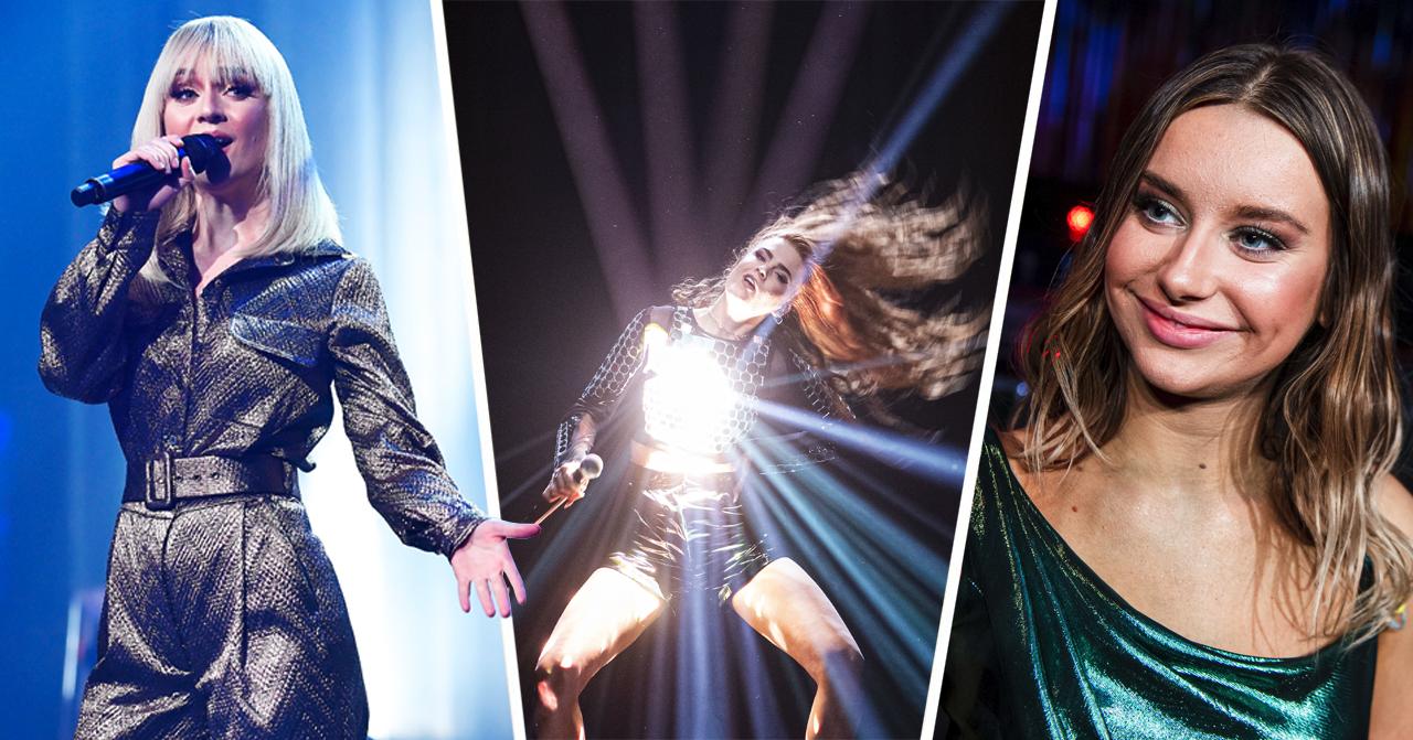 Alla bidrag som tävlar i finalen av Melodifestivalen 2020