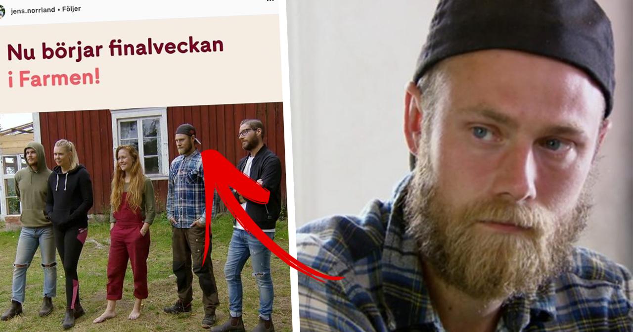 Jens Rönnqvist om chockerande upptäckten under inspelningarna av Farmen