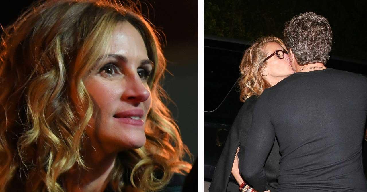 Julia Roberts kysser annan man än Danny
