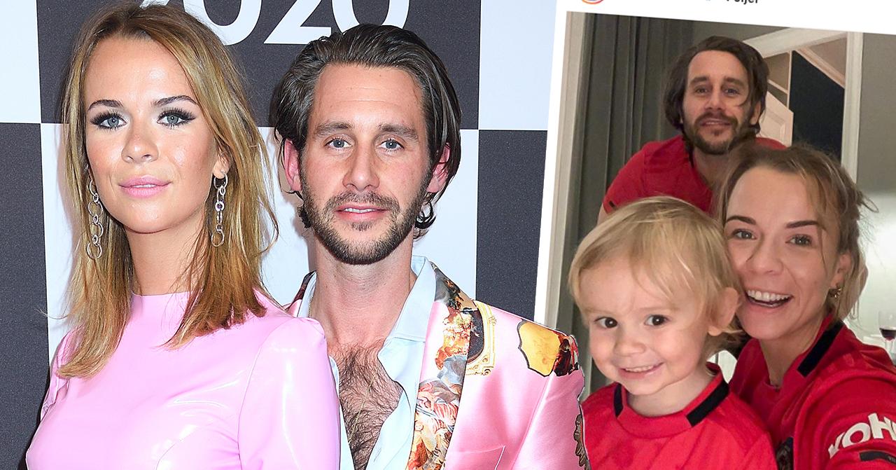 Margaux Dietz drag med 2-årige sonen Arnold får fansen att jubla