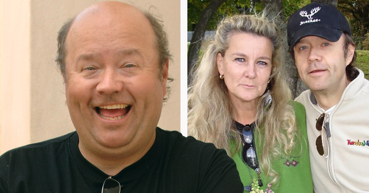 Ulf Larsson och Lillemor.
