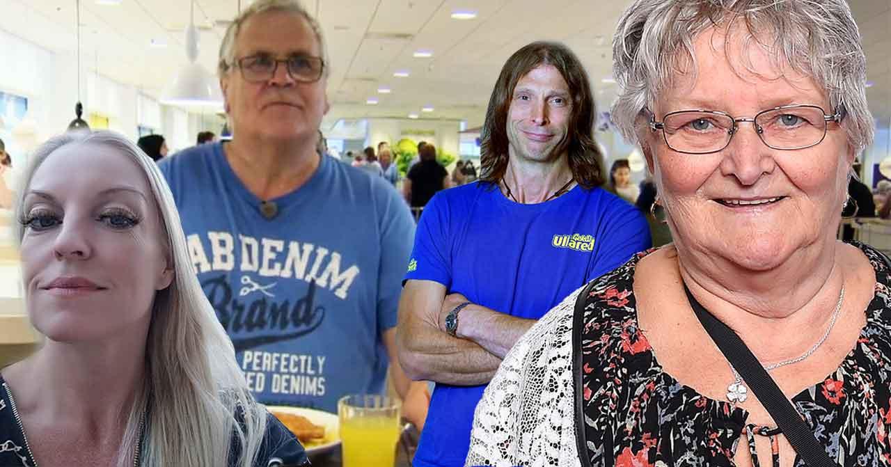 Helene Lundberg, Åke Jönsson, Ola-Conny Wallgren och Gunnel Hyvönen från Ullared