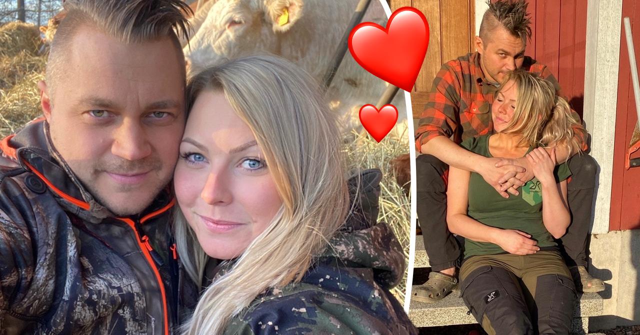 Farmen-Lina Ilar och Erik Persson berättar om förhållandet