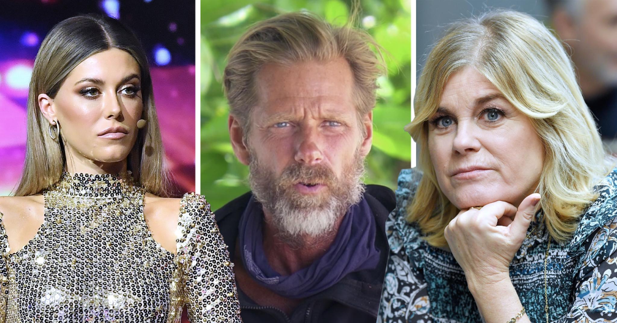 Robinson-Mattias försvaras av Bianca Ingrosso och Pernilla Wahlgren