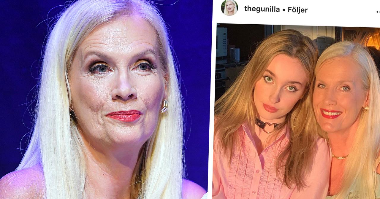 Gunillia Perssons ord om dottern Erika – efter påhoppen