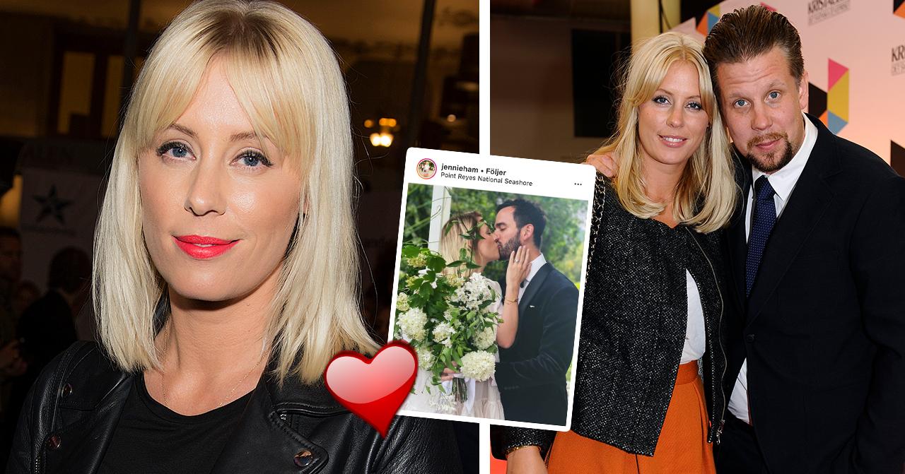 Jennie Hammars hemliga bröllopslycka – 4 år efter skilsmässan från Filip