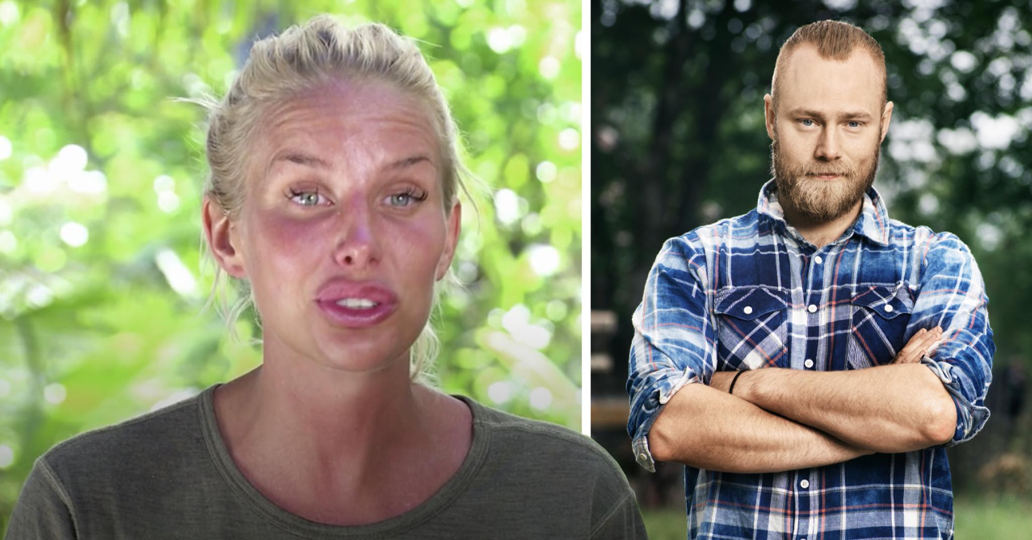 Robinson-Julia Franzéns hemliga relation med Farmen-Jens Rönnqvist