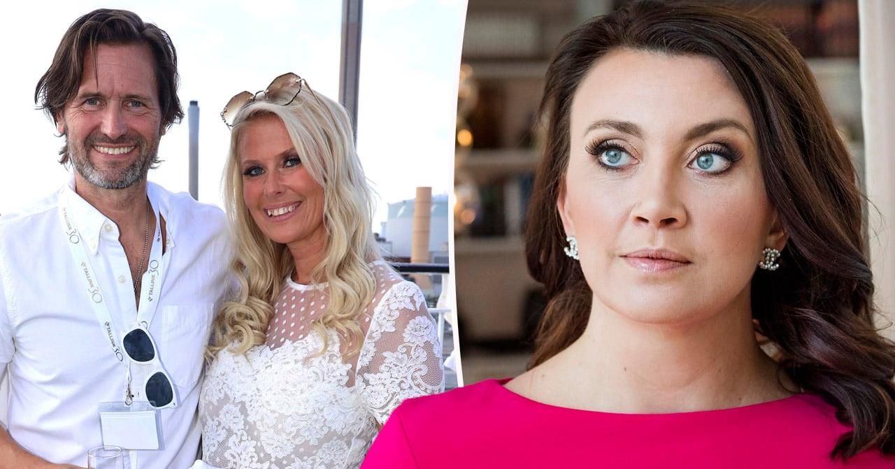 Camilla Läckbergs ord om Martin Melins exfru Christina