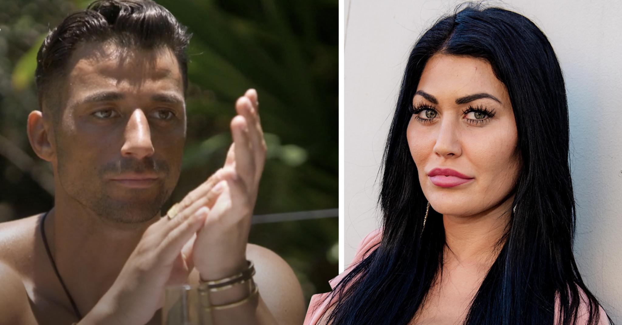 Alex D'rossos nya ord om relationen till Sara Bolay i CEOTB