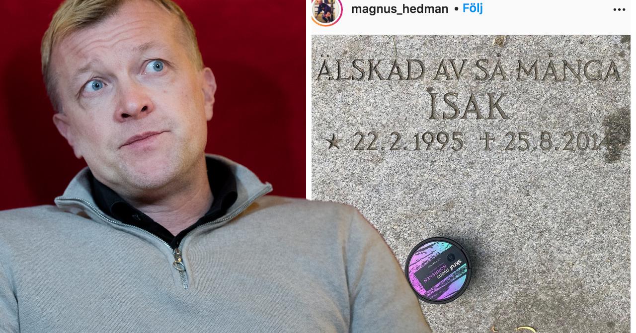 Magnus Hedmans sorg efter Isak Graafs död