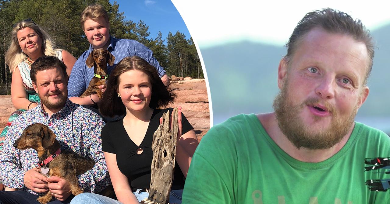 Robinson-vinnaren Michael Björklunds glädjebesked med familjen