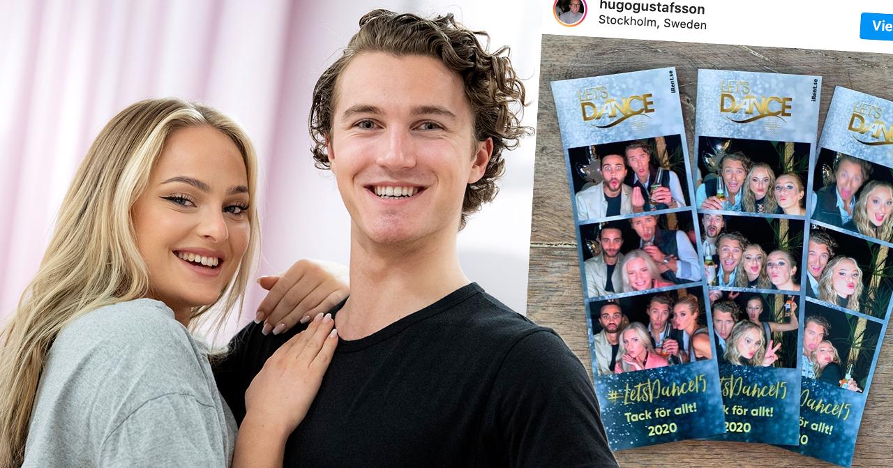 Följarnas förvirring efter Hugo Gustafssons nya bild med Alice Stenlöf