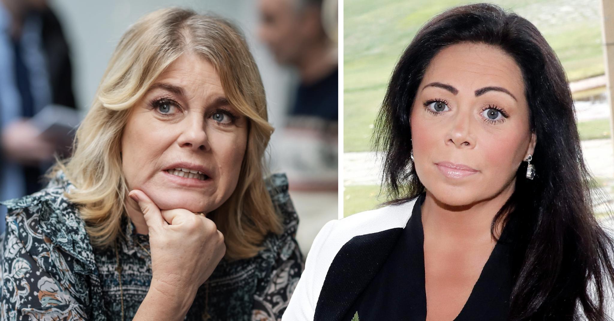 """Pernilla Wahlgrens hårda ord om Anna Book: """"Taskigt"""""""