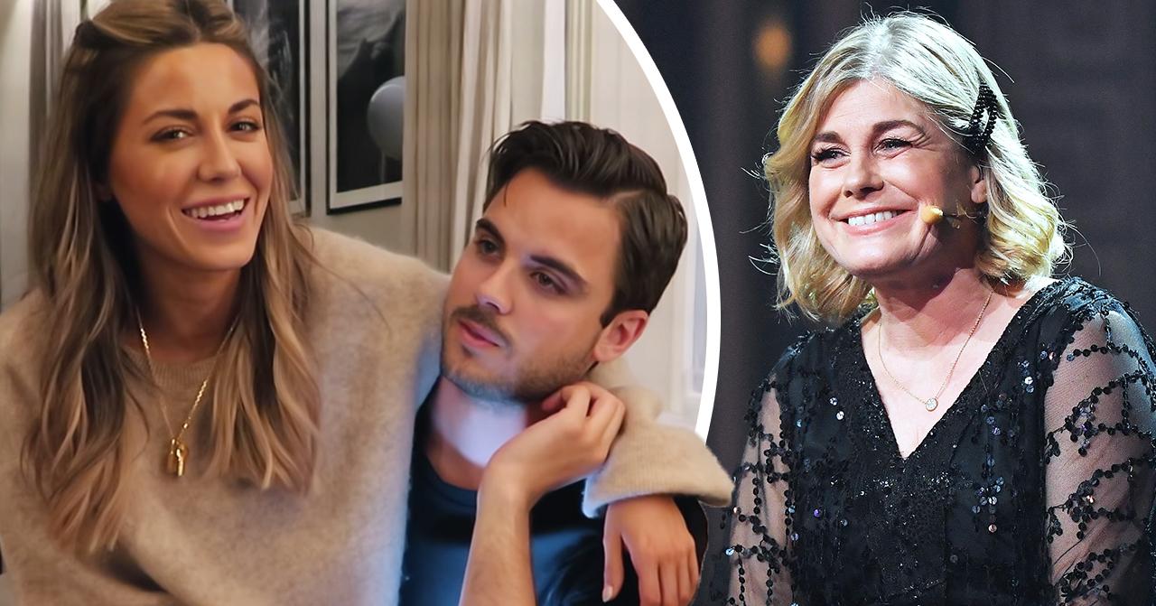 """Pernilla Wahlgrens lycka över Bianca Ingrossos plötsliga besked med Phillipe: """"Väldigt glad"""""""