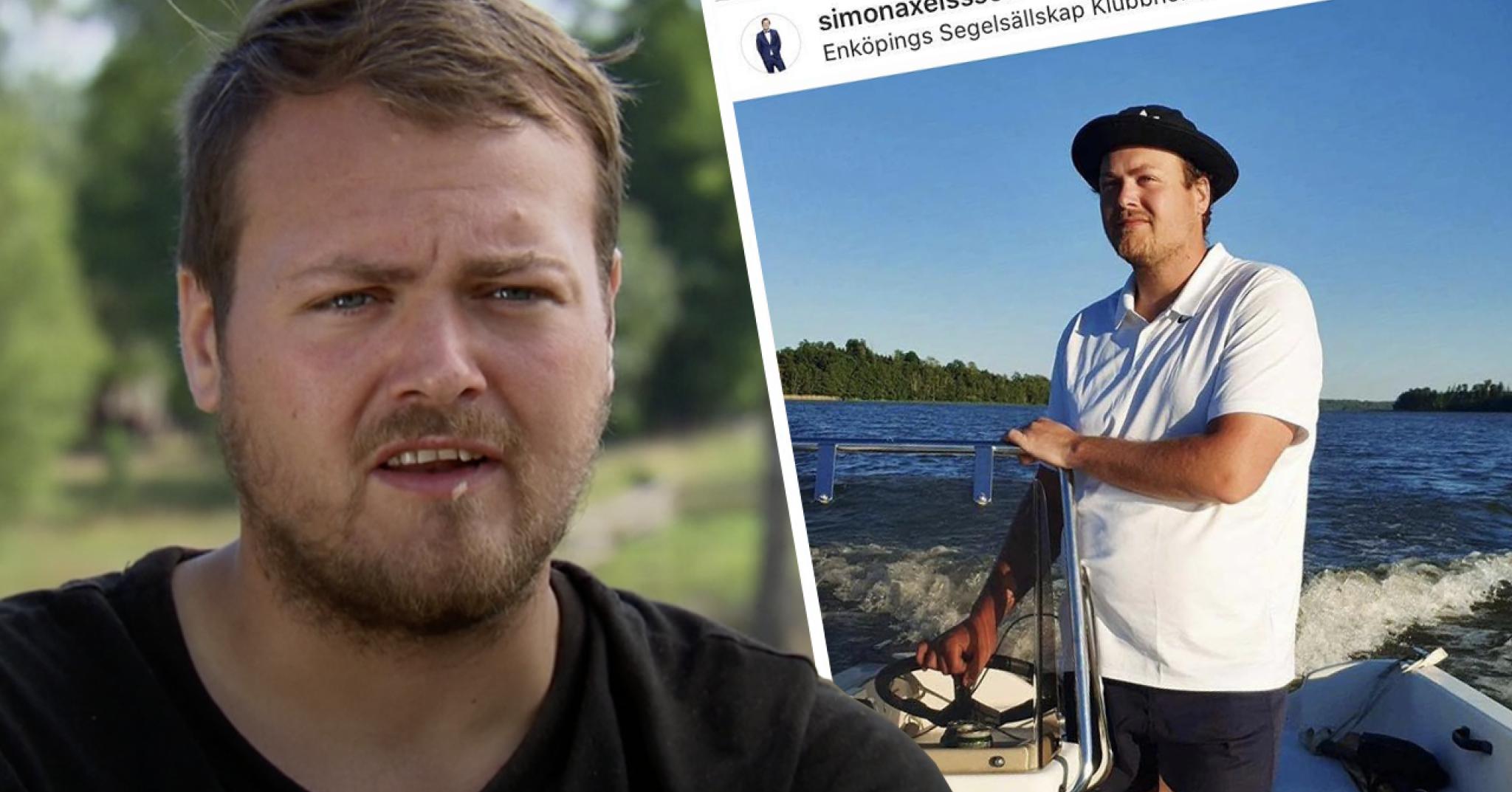 Farmen Simon Axelsson skolan åker båt