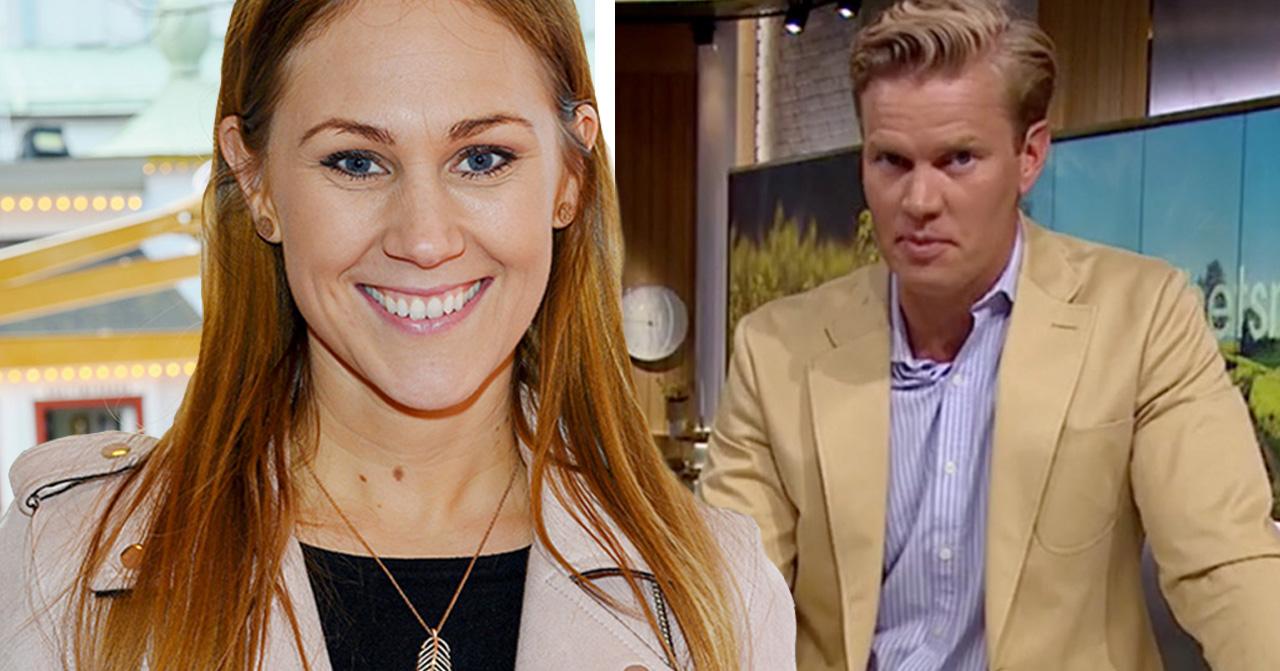 Maria Forsblom och Martin Järborg leder Nyhetsmorgon ihop
