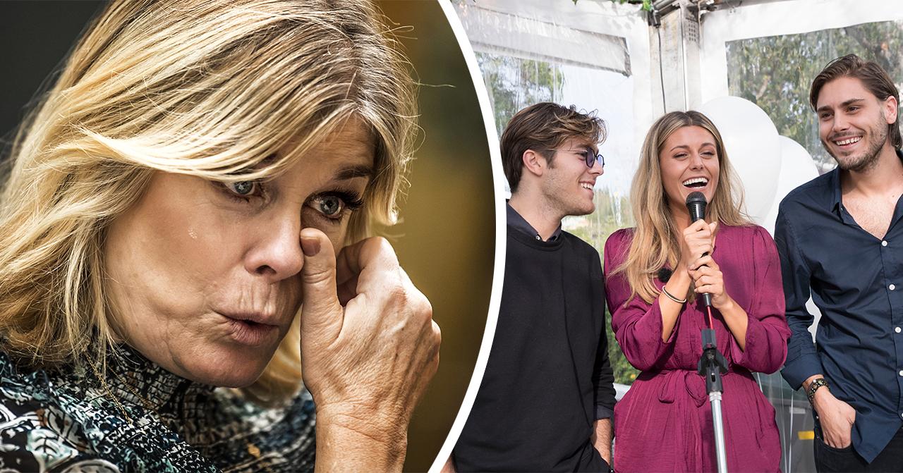 Pernilla Wahlgren i tårar efter beskedet – erkännandet om barnen