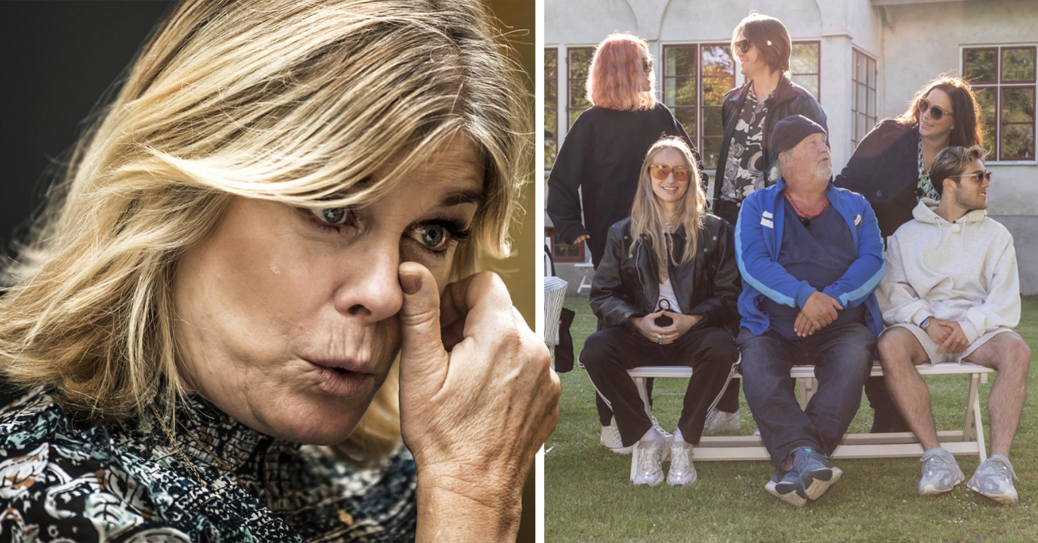 Pernilla Wahlgrens tårar över Benjamin – efter avslöjandet om Så mycket bättre