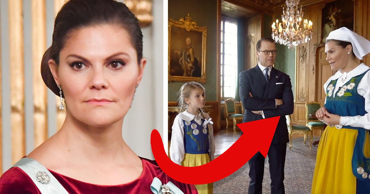 Kronprinsessan Victorias ord om prins Daniel väcker frågor