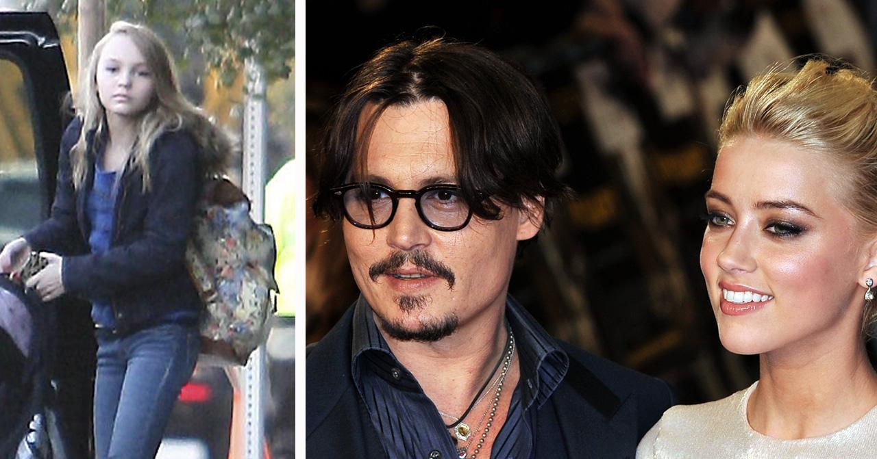 Johnny Depp erkänner att han gav dottern Lily Rose droger