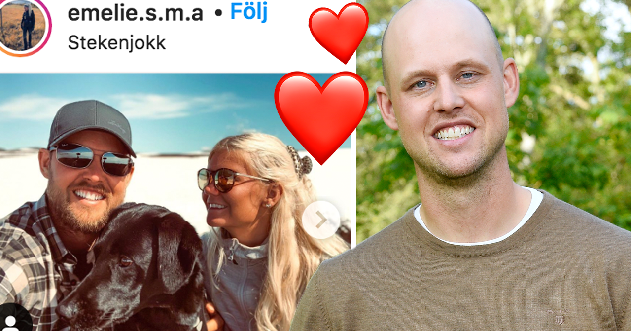 Bonde söker fru-Jimmy Olofssons barnbesked med Emelie Åström