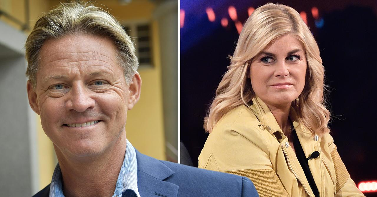 Mikael Sandström och Pernilla Wahlgren