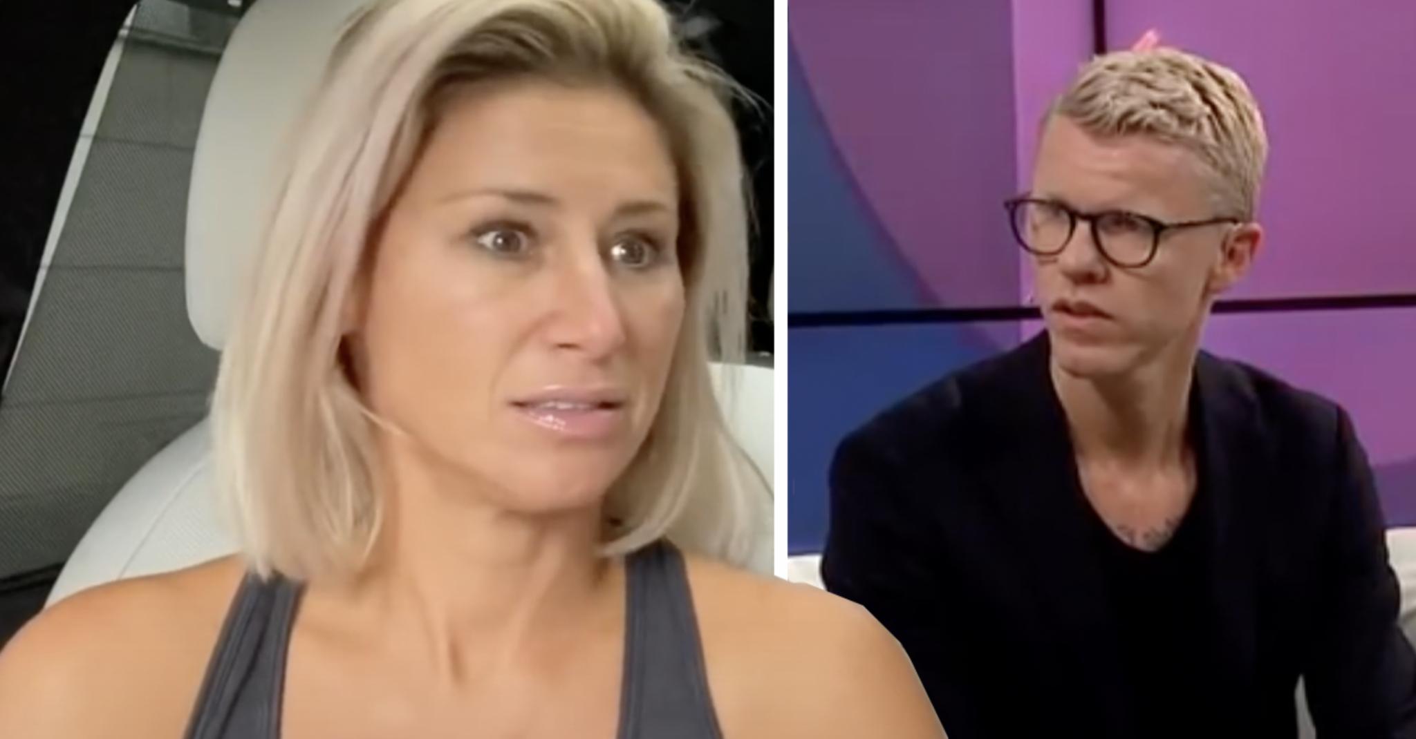Katrin Zytomierskas ilska - efter Bingo Rimérs drag med nya tjejen