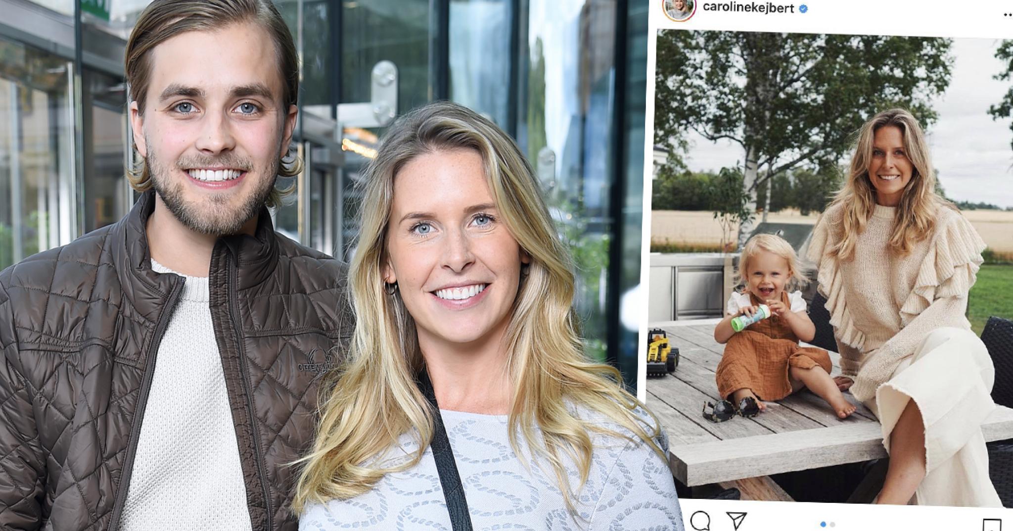 Caroline Kejberts glädjebesked – efter tuffa insikten med dottern Wilda