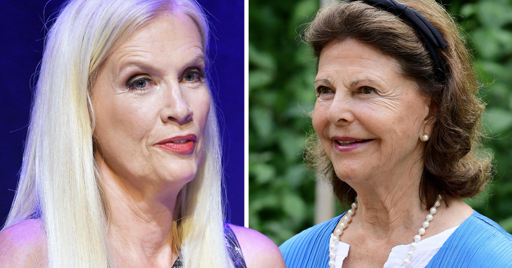 Gunilla Perssons oväntade relation med drottning Silvia