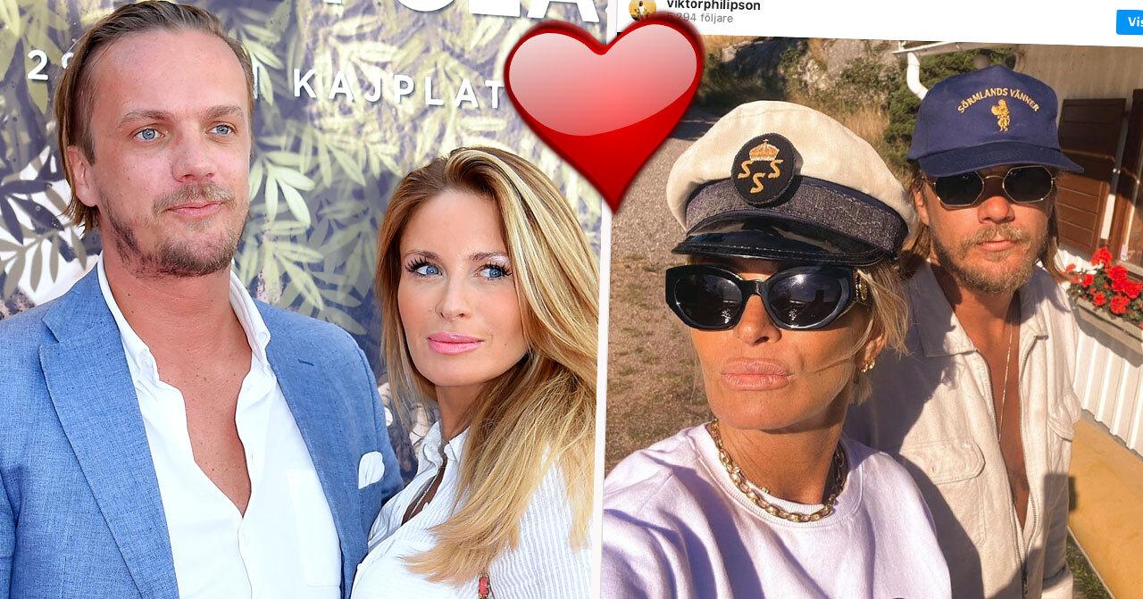 Carolina Gynning och Viktor Philipsson är ett par – igen