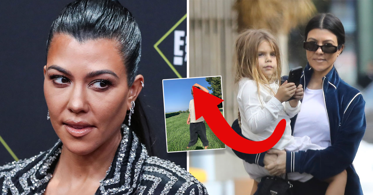 Kourtney Kardashians sin Reigns frisyr