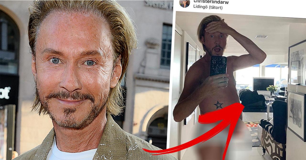 Christer Lindarws kroppsförvandling – följarna chockas av detaljen i bilden