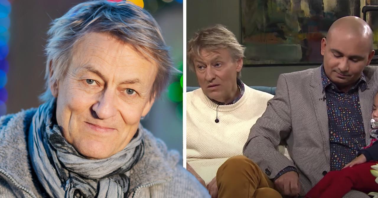 Lars Lerins lycka efter Junior och barnens frånvaro