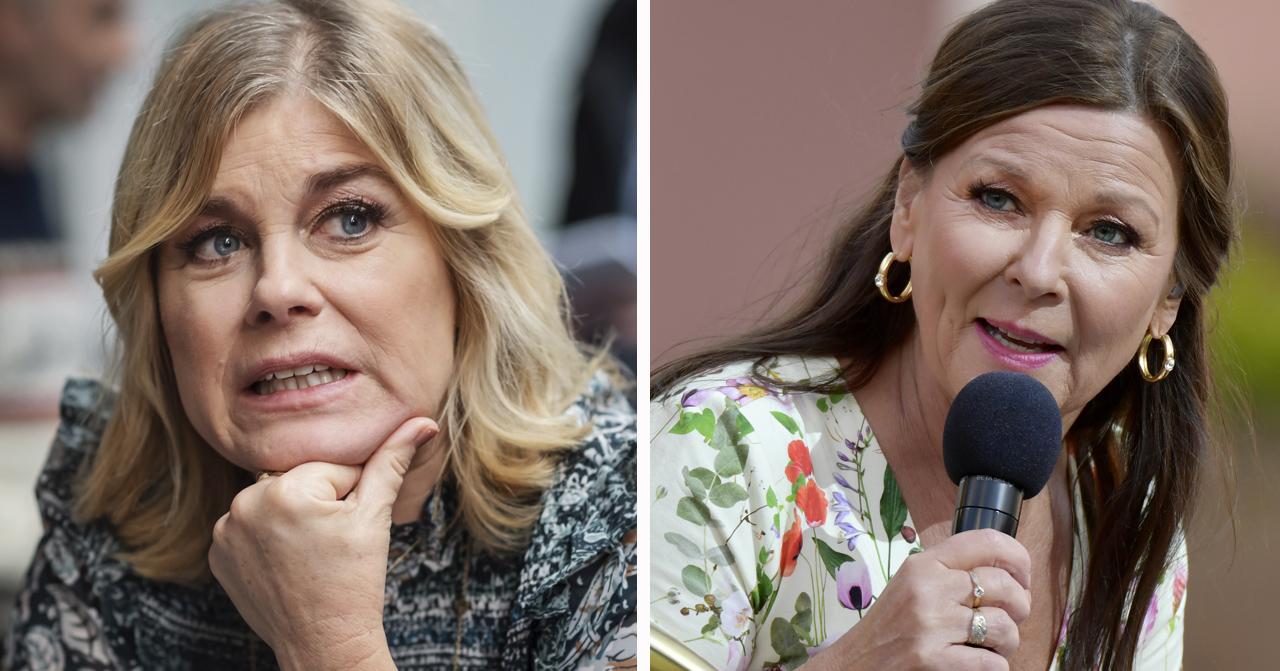 Pernilla Wahlgrens hårda kritik mot Lotta Engberg