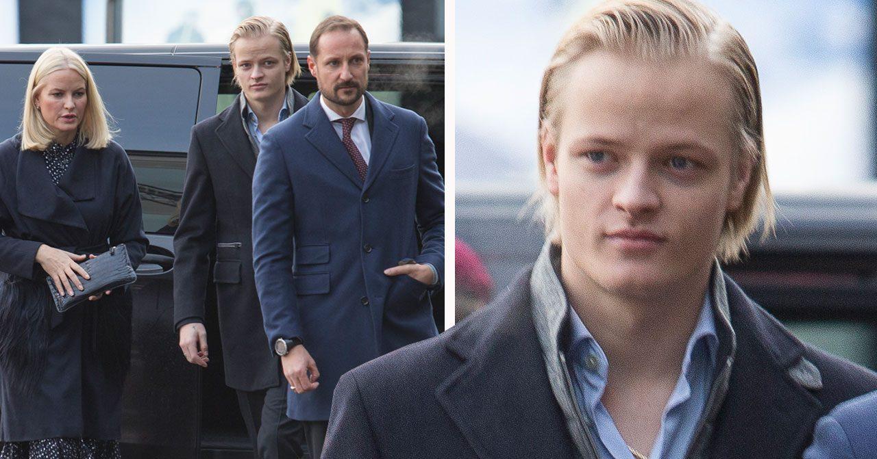 Mette-Marit, Haakon, Marius Borg