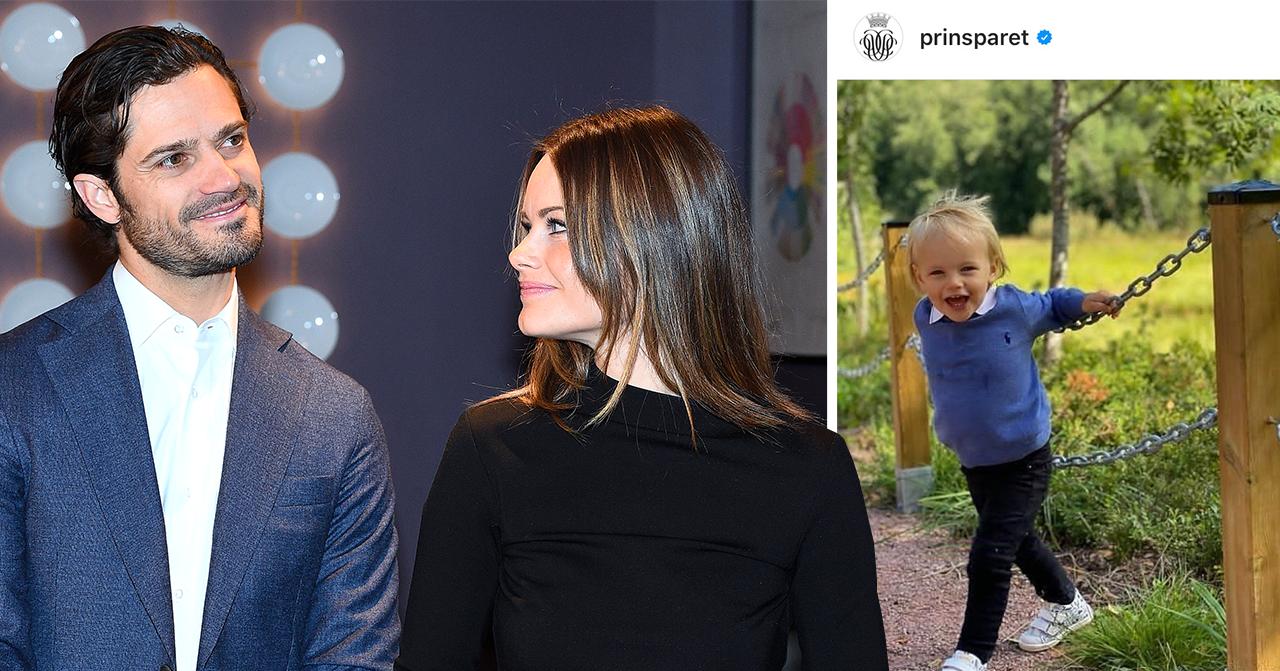 Prins Carl Philip, prinsessan Sofia och prins Gabriel