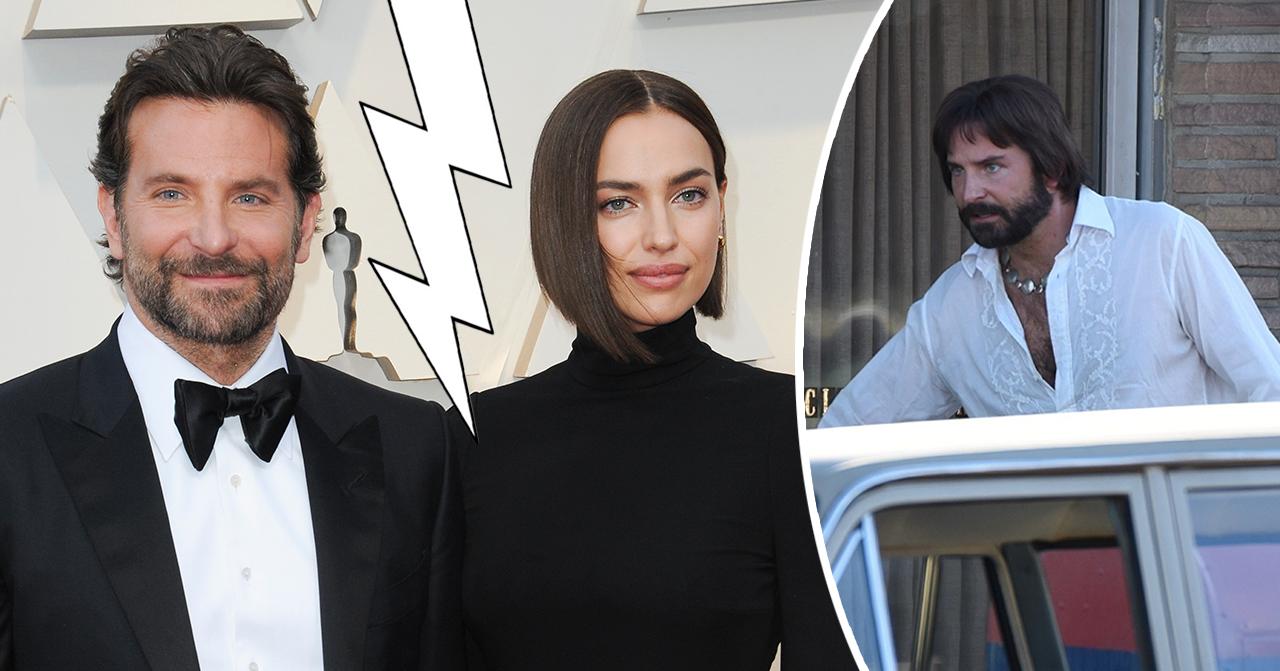 Bradley Coopers utseendeförvandling efter uppbrottet från Irina Shayk